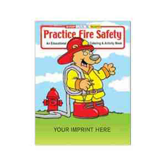Fire Safety Coloring Books