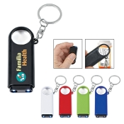 Magnifier & LED Light Keychain