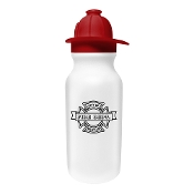 20oz Fire Helmet Water Bottle