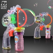 Multi Size Bubble Gun with Music