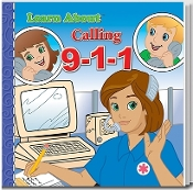 Learn About 9-1-1 Story Book