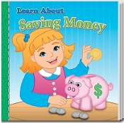 Learn About Saving Money Story Book