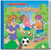 Learn About Exercising Story Book