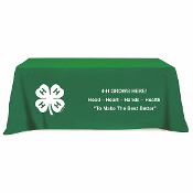 4-H Table Cloth 8 foot